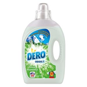 Detergent lichid DERO Ozon+Roua muntelui, 3l, 60 spalari CONDLDOBM3060