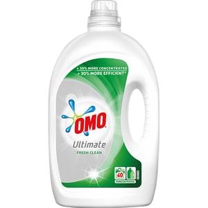 Detergent lichid OMO Ultimate Fresh Clean, 2l, 40 spalari CONDLOUFRCL2040