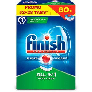 Detergent vase pentru masina de spalat vase FINISH All in One, 52+28 tablete CONFINAO5228