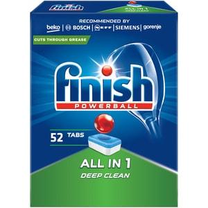 Detergent vase pentru masina de spalat vase FINISH All in One, 52 tablete CONFINISH52