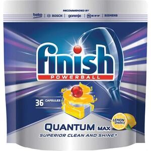 Detergent pentru masina de spalat vase FINISH Quantum Lamaie, 36 bucati CONFINQUANL36
