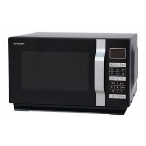 Cuptor microunde cu grill SHARP R-760BK, 23l, 900W, negru CPMR760BK