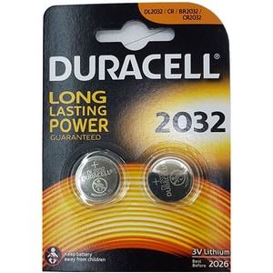 Baterii DURACELL Litiu CR2032, 2 bucati BATDURCR2032B2
