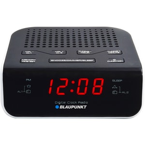 Radio cu ceas BLAUPUNKT CR5WH, FM, negru CESCR5WH