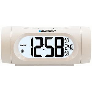 Radio cu ceas BLAUPUNKT CR9WH, FM, Incarcator USB, Termometru, alb CESCR9WH