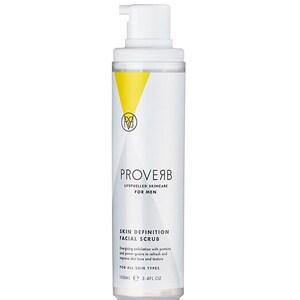Scrub de curatare faciala pentru barbati PROVERB 1105, 100ml CRM1105