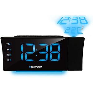 Radio cu ceas BLAUPUNKT CRP81USB, Incarcator USB, FM, Proiector, Incarcator USB, Termometru, negru CESCRP81USB