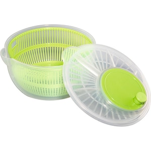 Uscator salata XAVAX Salad Spiner 111353, 3l, plastic, verde CUT111353