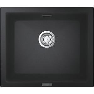 Chiuveta bucatarie GROHE K700U 31654AP0, 1 cuva, compozit quartz, negru CVT31654AP0