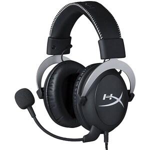 Casti Gaming HyperX Cloud Silver, sunet stereo, multiplatforma, 3.5mm, negru-argintiu CASHXKCLOUDSPS4