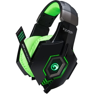 Casti Gaming MARVO HG8919, stereo, USB, 3.5mm, verde CASMRVHG8919GR