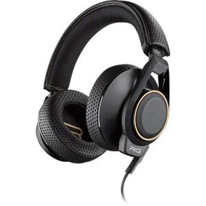 Casti gaming PLANTRONICS Rig 600 Dolby Atmos, Noise cancelling, Binaural, Laptop/PC, 3.5mm, negru CASPLP00095