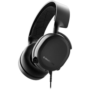 Casti Gaming STEELSERIES Arctis 3 2019 Edition Black, stereo, multiplatforma, 3.5mm, negru CASSSARCTICS3BK