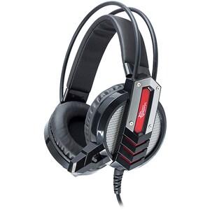 Casti Gaming WHITE SHARK Cougar GH-1643, stereo, USB, 3.5mm, negru-rosu CASCPC00492