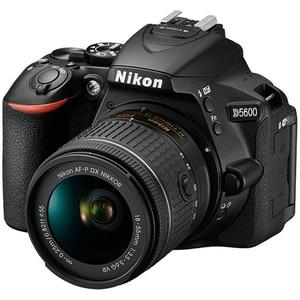 Camera foto DSLR NIKON D5600, 24.2 MP,  Wi-Fi, negru + Obiectiv AF-P 18-55mm VR SLRD5600AFP1855