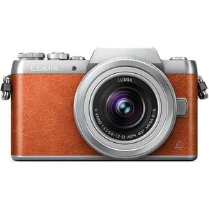 Aparat foto Mirrorless PANASONIC DCM-GX800, 16.8 MP, Wi-Fi, maro + Obiectiv 12-32mm MLCDMCGX800KEGT