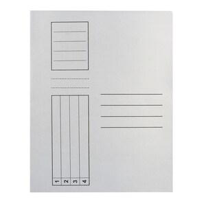 Dosar VOLUM, A4, carton, 100 bucati, alb PBODL303R