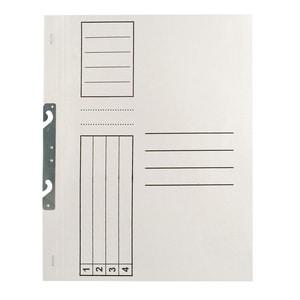 Dosar incopciat VOLUM, 1/1, A4, carton, 10 bucati, alb PBODL3041M