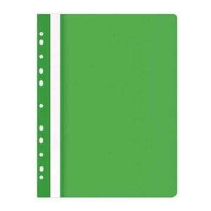 Dosar cu sina DONAU, A4, plastic, verde PBODN100542