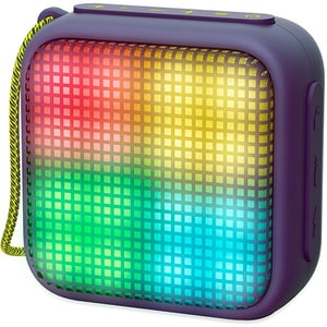 Boxa portabila ENERGY SISTEM Beat Box 2+ Litghtcube, ENS446834, Bluetooth, USB, microSD, Radio FM, LED, Amethyst DOCENS446834