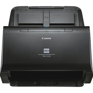 Scanner CANON imageFORMULA DR-C240, A4, USB, Duplex, negru PAPDRC240