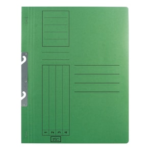 Dosar incopciat RTC Super, 1/1, A4, carton, 10 bucati, verde PBODS414S