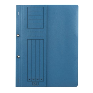 Dosar incopciat RTC Super, 1/2, A4, carton, 10 bucati, albastru PBODS423S