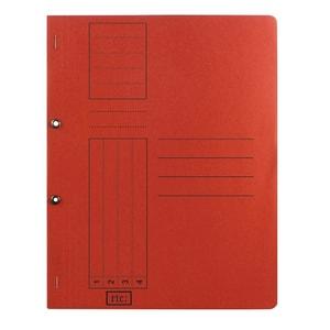 Dosar incopciat RTC Super, 1/1, A4, carton, 10 bucati, rosu PBODS436S