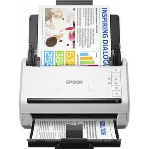 Scanner EPSON WorkForce DS-530N, A4, USB, Retea, alb SCADS530N