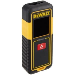Telemetru laser DEWALT DW033, Distanta 30m, negru-galben APMDW033