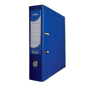 Biblioraft plastifiat/cartonat NOKI, A4, 50 mm, bleu PBODY000123