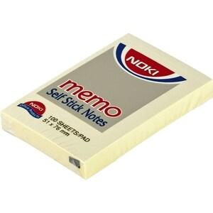 Notite adezive NOKI, 100 file, 76 x 51mm, galben PBHDY000241