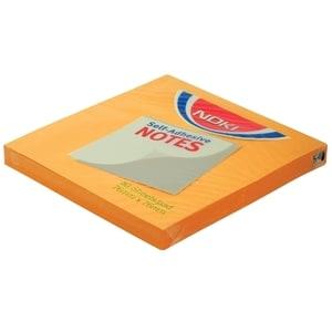 Notite adezive NOKI, 100 file, 76 x 76mm, portocaliu PBHDY000247