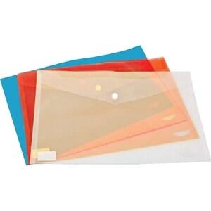 Mapa documente cu capsa NOKI, A4, plastic, rosu PBODY001203