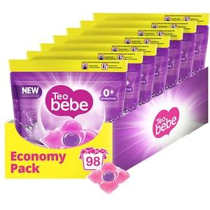 Detergent capsule TEO BEBE Cotton Soft, 98 spalari CONDCTBCS98