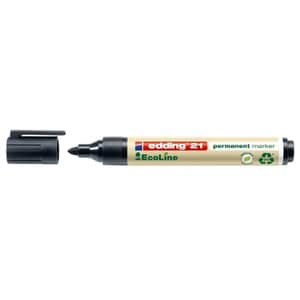Marker permanent EDDING Ecoline, 1.5-3 mm, negru PBIED000213