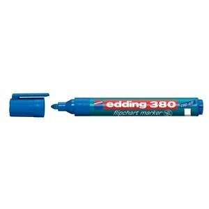 Marker  pentru flipchart EDDING 380, 1.5-3 mm, albastru PBIED380003