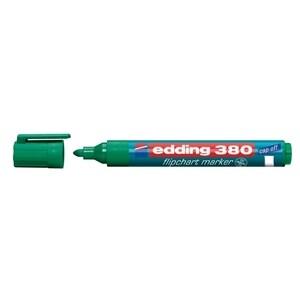 Marker  pentru flipchart EDDING 380, 1.5-3 mm, verde PBIED380004