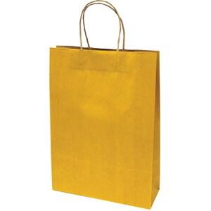 Punga cadou EUROCOM, 42 x 31 x 11 cm, carton, galben PBHEM071341