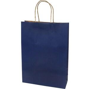 Punga cadou EUROCOM, 42 x 31 x 11 cm, carton, albastru PBHEM071343