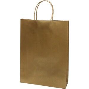 Punga cadou EUROCOM, 35 x 26 x 8 cm, carton, auriu PBHEM071442