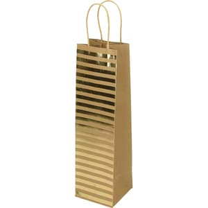 Punga cadou EUROCOM, 10 x 36 x 10 cm, hartie, maro design buline PBHEM075062
