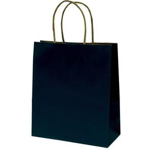 Punga cadou EUROCOM, 25 x 22 x 10 cm, carton, negru PBHEM075227