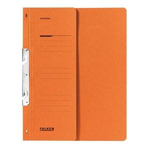 Dosar incopciat FALKEN, 1/2, A4, carton, portocaliu PBOFA0916