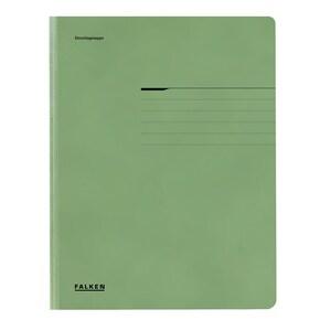 Dosar FALKEN, A4, carton, verde PBOFA09404