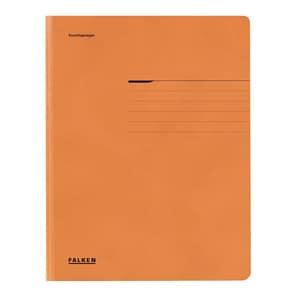 Dosar FALKEN, A4, carton, portocaliu PBOFA09406