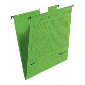 Dosar suspendabil FALKEN, A4, carton, 25 bucati, verde PBOFA0954