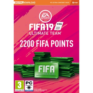 FIFA 19 2200 FUT Points PC (Code in the Box) JOCPCFIFA192200