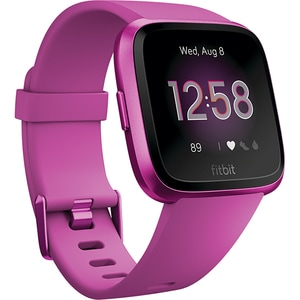 Smartwatch FITBIT Versa Lite FB415PMPM, Android/iOS, silicon, Mulberry SMWVERSALITEMU