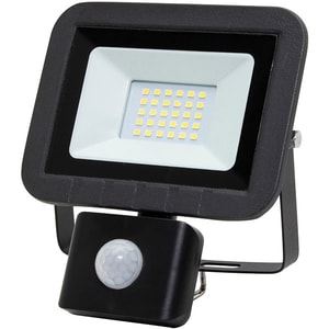 Proiector LED cu senzor de miscare HOME FLP 20 SMD, 20W, 1500 lumeni, IP44, negru CIEFLP20SMD